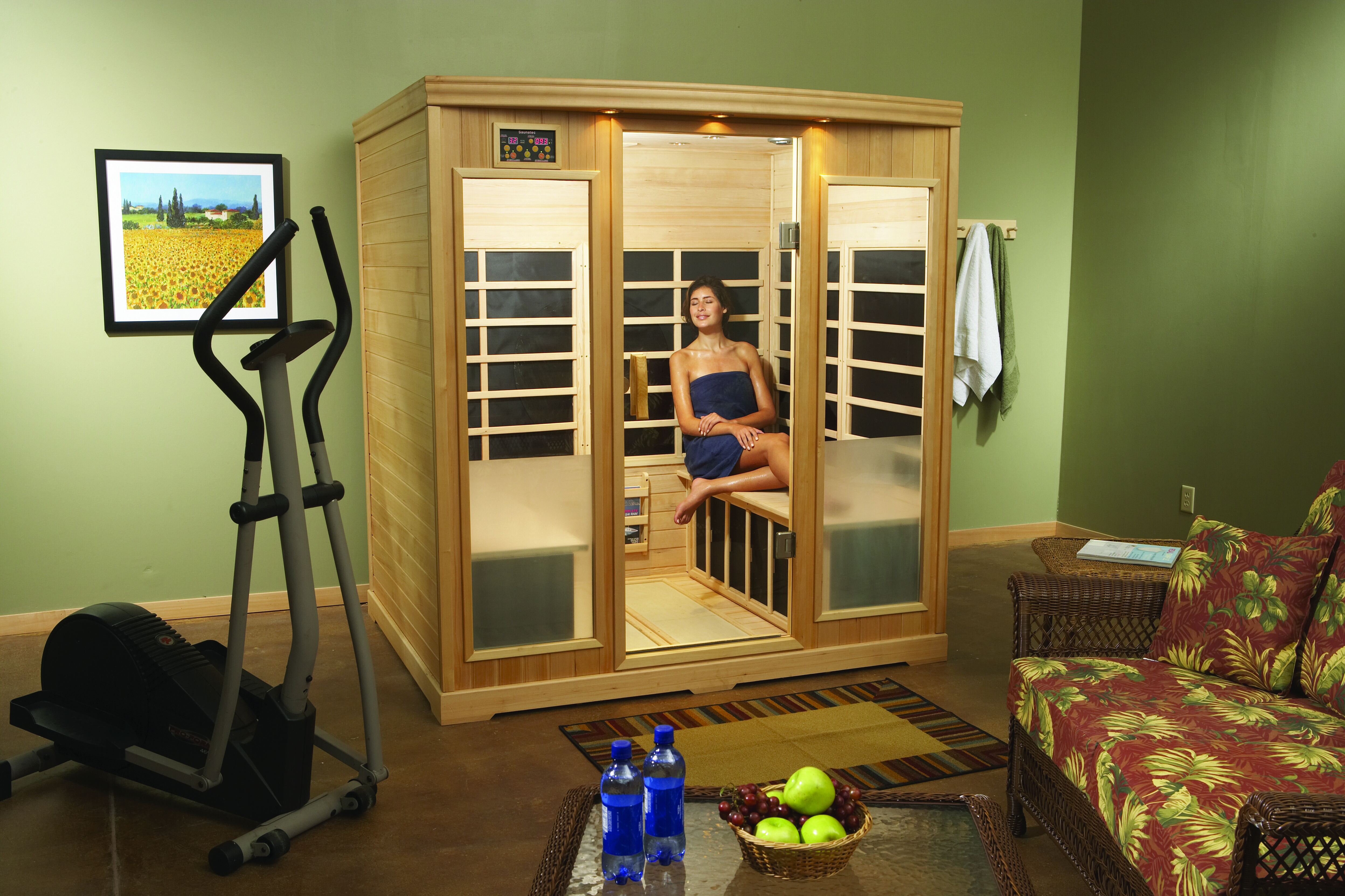 Nine surprising benefits to using a Sauna in your home