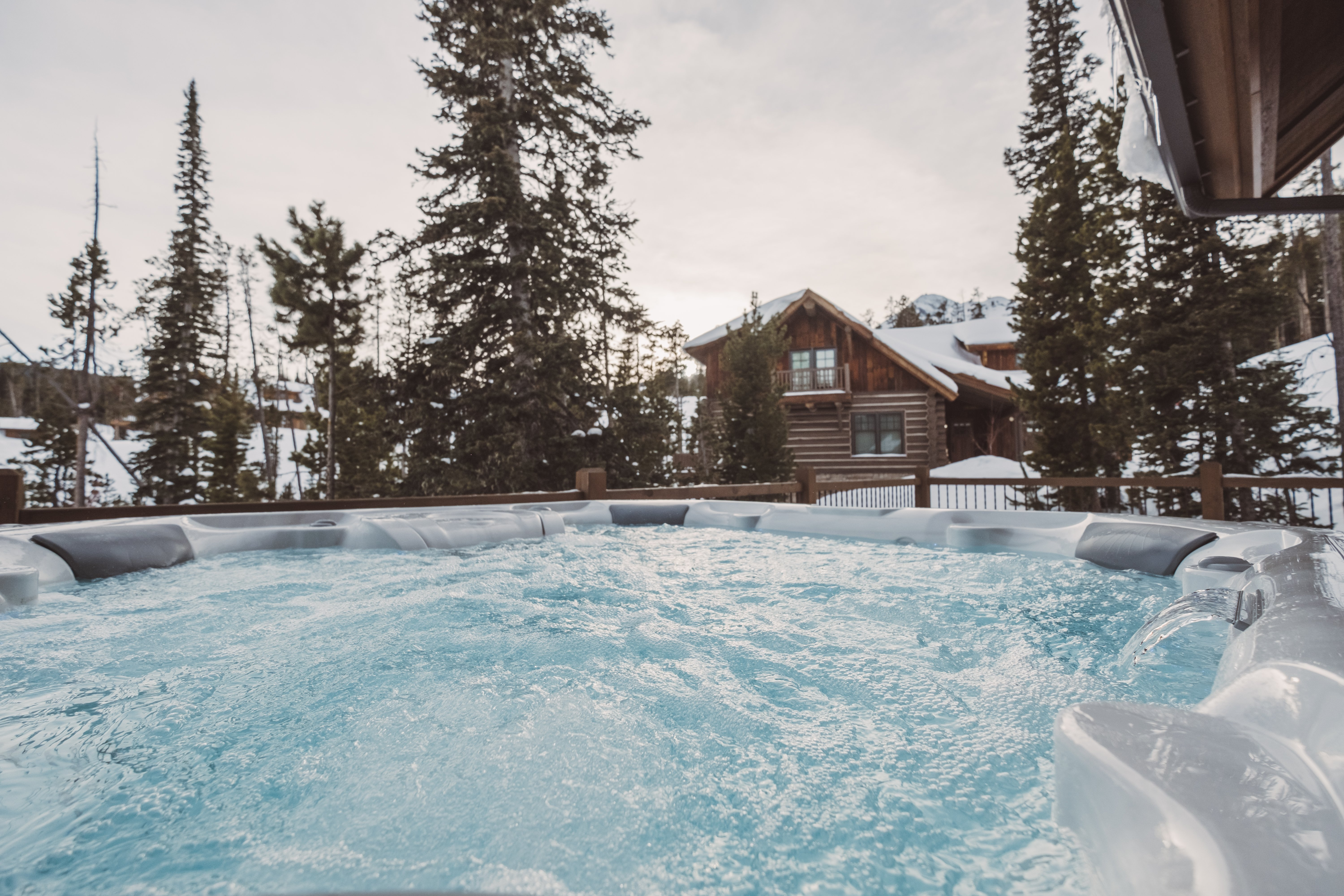 Get out of the arctic and into a spa