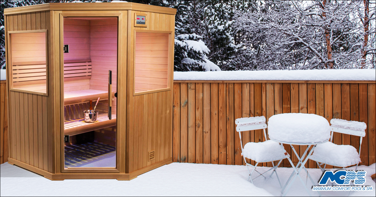 Yes, you really do need an outdoor sauna