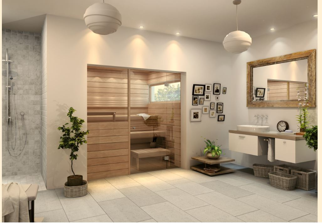 3 Reasons a Sauna Will Take Your Master Bath to the Next Level