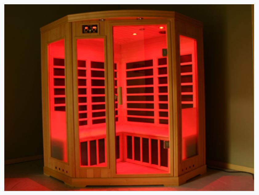 Light therapy in an infrared sauna can help with seasonal depression