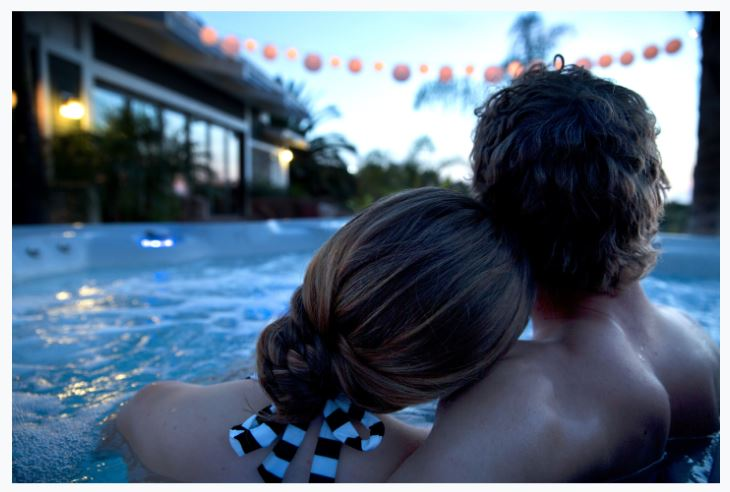 Hot Tub: A Steamy Valentine's Day Present