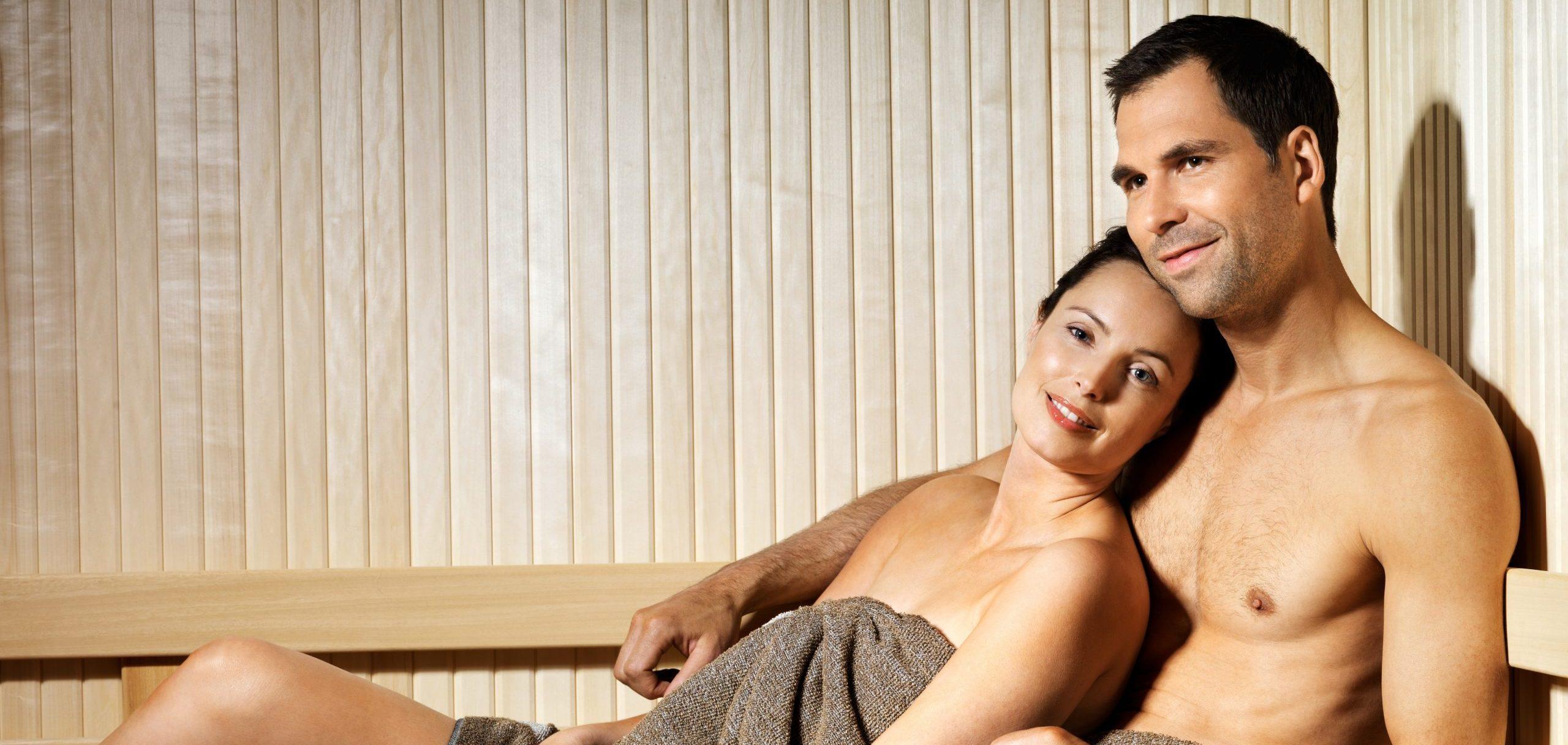 Steamy Valentine's Day Present: A Sauna